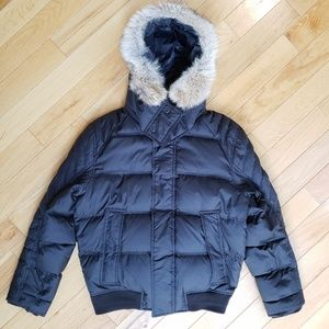 New Marc New York Andrew Marc Coyote Fur Jacket S